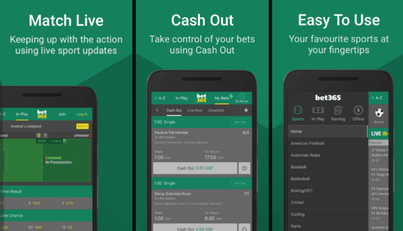 bet365 apps apps (ios, android)