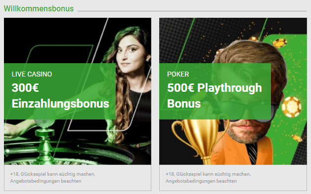 unibet wilcommensbonus part 2